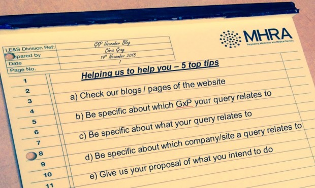 Helping us to help you by a) check our blog/pages of the website, b) be specific by which GXP your query relates to c) be specific about what your query relates to d) be specific about which company/site your query relates to e) give your proposal of what you intend to do