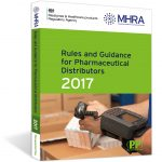 Front cover of the 2017 Rules and Guidance for Pharmaceutical Distributors