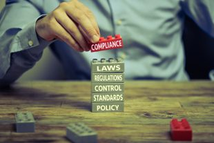 Factors involved in compliance including laws, regulations, control, standards policy