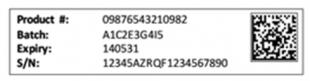 FMD 2-D barcode