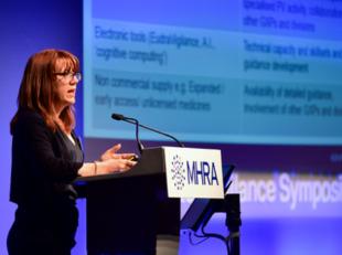 Expert Inspector, Jo Harper, presenting at the Symposium
