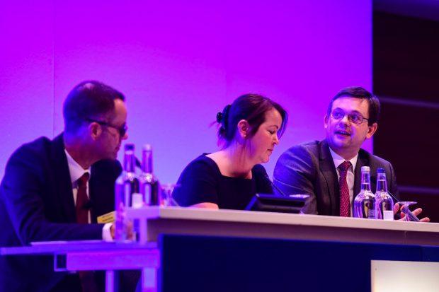 Panel members: Richard Andrews, Tracy Moore and David Churchward