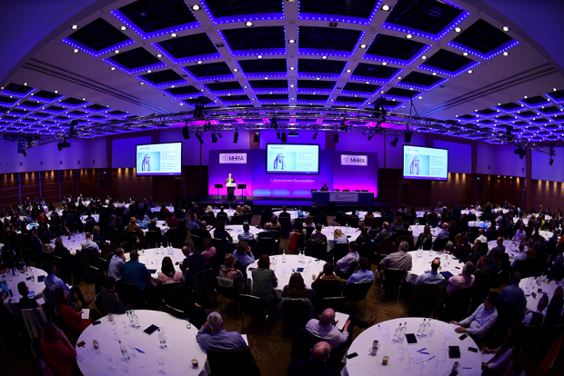 Aerial view of one of the previous MHRA Symposia